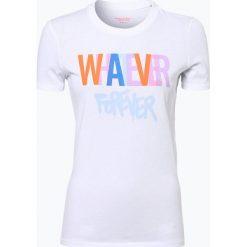 T-shirty damskie: Marc O'Polo Denim – T-shirt damski, czarny
