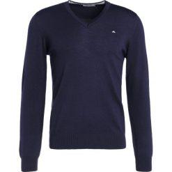 J.LINDEBERG LYMANN Sweter navy. Niebieskie swetry klasyczne męskie J.LINDEBERG, m, z materiału. Za 419,00 zł.