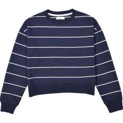 Krótka bluza w paski 10-16 lat. Szare bluzy dziewczęce La Redoute Collections, w paski, z bawełny, z długim rękawem, długie. Za 70,52 zł.