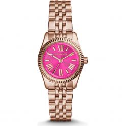 ZEGAREK MICHAEL KORS MINI LEXINGTON MK3285. Różowe zegarki damskie Michael Kors, ze stali. Za 925,00 zł.