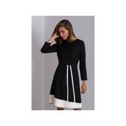 Czarna czarna sukienka do pracy Catrise. Czarne sukienki asymetryczne marki Mohito, l, z dekoltem na plecach. Za 340,00 zł.
