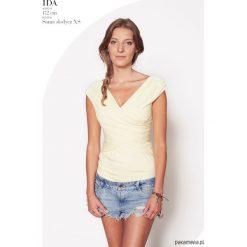 Bluzki damskie: Bluzka Sama słodycz waniliowa