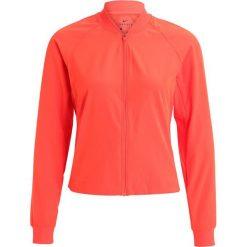 Nike Performance Kurtka sportowa max orange/black. Brązowe kurtki sportowe damskie marki Nike Performance, xl, z elastanu. W wyprzedaży za 148,05 zł.