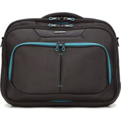 Torba na laptopa 56-3S-633-1D. Czarne torby na laptopa marki Wittchen, w paski, z poliesteru. Za 359,00 zł.