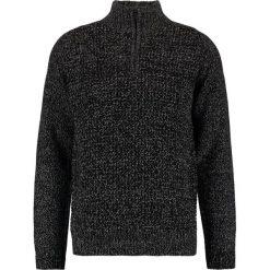 Swetry klasyczne męskie: Burton Menswear London HALF ZIP Sweter black