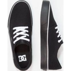 DC Shoes TRASE Tenisówki i Trampki black/white. Czarne trampki męskie DC Shoes, z materiału. Za 279,00 zł.