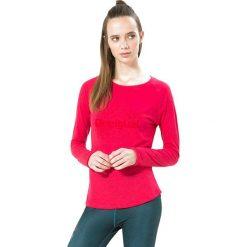 Koszulka funkcyjna w kolorze różowym. Czerwone bluzki sportowe damskie Desigual Sport, s, z materiału, z długim rękawem. W wyprzedaży za 86,95 zł.