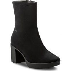 Botki HÖGL - GORE-TEX 4-106856 Schwarz 0100. Czarne buty zimowe damskie marki HÖGL, z materiału. W wyprzedaży za 399,00 zł.