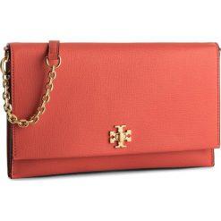Torebka TORY BURCH - Kira Clutch 45294 Poppy Red 614. Brązowe torebki klasyczne damskie Tory Burch, ze skóry. W wyprzedaży za 869,00 zł.