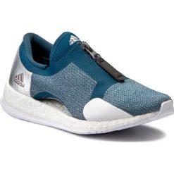 Buty adidas - PureBoost X Tr Zip S81033 Petnit/Silvmt/Ftwwht. Niebieskie buty do fitnessu damskie Adidas, z materiału. W wyprzedaży za 349,00 zł.