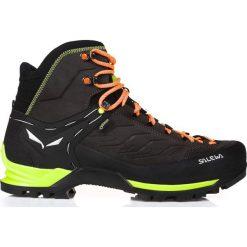 Buty trekkingowe męskie: Salewa Buty męskie MS Mountain Trainer Mid GTX Black/Sulphur Spring r. 44.5 (63411974)