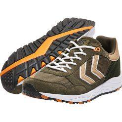 """Buty """"3S Sport"""" w kolorze oliwkowym do biegania. Brązowe buty do biegania męskie marki Hummel. W wyprzedaży za 184,95 zł."""