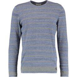 Swetry klasyczne męskie: TOM TAILOR DENIM Sweter black iris blue