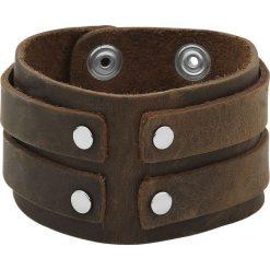 Brown Bracelet Bransoletka skórzana brązowy. Brązowe bransoletki męskie Brown Bracelet. Za 42,90 zł.
