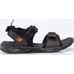 New Balance - Sandały. Szare sandały męskie marki New Balance, z gumy. W wyprzedaży za 149,90 zł.