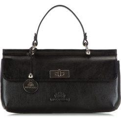 Torebka damska 35-4-585-1. Czarne torebki klasyczne damskie marki Wittchen, w paski. Za 649,00 zł.