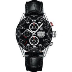 ZEGAREK TAG HEUER CARRERA CV2A1R.FC6235. Czarne zegarki męskie TAG HEUER, ceramiczne. Za 19320,00 zł.