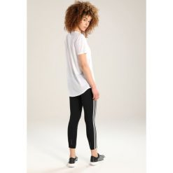 Adidas Performance TEE Tshirt z nadrukiem white. Białe t-shirty damskie adidas Performance, xxl, z nadrukiem, z bawełny. Za 169,00 zł.