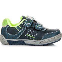 Buty sportowe na rzepy HOLLY. Niebieskie buciki niemowlęce HASBY, na rzepy. Za 89,90 zł.