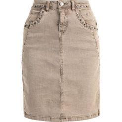 Spódniczki: Cream MILA SKIRT Spódnica ołówkowa  khaki sand