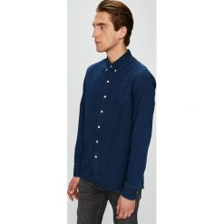 Levi's - Koszula. Brązowe koszule męskie jeansowe marki Levi's®, l, w kratkę, button down, z długim rękawem. Za 199,90 zł.