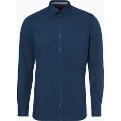 Finshley & Harding - Koszula męska łatwa w prasowaniu, niebieski. Niebieskie koszule męskie na spinki Finshley & Harding, m. Za 179,95 zł.