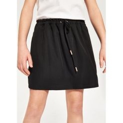 Spódniczki: Spódnica z kieszeniami - Czarny