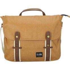 Torebka w kolorze jasnobrązowym - 38 x 32 x 10 cm. Brązowe torebki klasyczne damskie G.ride, w paski, z tkaniny, na ramię. W wyprzedaży za 165,95 zł.