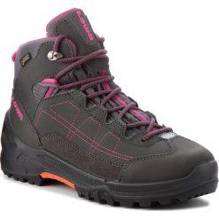 Trekkingi LOWA - Approach Gtx Mid Junior GORE-TEX 350122 Anthrazit/Beere 9756. Szare buty trekkingowe dziewczęce Lowa. W wyprzedaży za 419,00 zł.