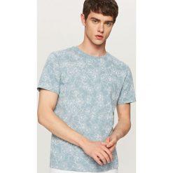 T-shirty męskie: T-shirt z nadrukiem w rowery – Turkusowy