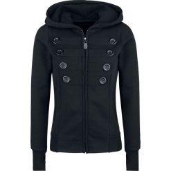 Black Premium by EMP Freaking Out Loud Bluza z kapturem rozpinana damska czarny. Czarne bluzy rozpinane damskie marki Black Premium by EMP, xl, z poliesteru. Za 199,90 zł.