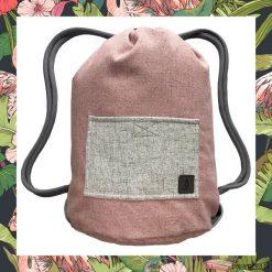 Plecaki męskie: FLAMINGO & PINK dwustronny plecak SACK IT!