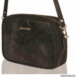 Skórzana torebka Brodrene Lund 9701-BLACK. Czarne torebki klasyczne damskie Pakamera. Za 161,00 zł.