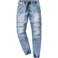 Rurki męskie: Dżinsy wsuwane Slim Fit Straight bonprix niebieski denim