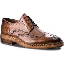 Półbuty LLOYD - Wheeler 16-301-01 Whisky. Brązowe buty wizytowe męskie Lloyd, z materiału. Za 1789,00 zł.