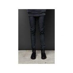 Spodnie dresowe UNIVERSUM |GRANATOWY MELANŻ|. Niebieskie spodnie dresowe męskie MALE-ME, melanż, z bawełny. Za 240,00 zł.