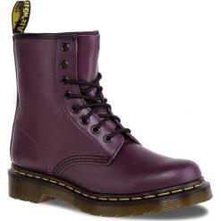 Glany DR. MARTENS - 1460 10072501/11821500 Purple. Fioletowe buty zimowe damskie Dr. Martens, z materiału. Za 679,00 zł.