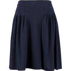 Spódniczki: Lost Ink Petite PLEAT WAIST FULL SKIRT Spódnica trapezowa dark blue