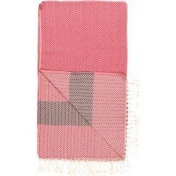 Kąpielówki męskie: Chusta hammam w kolorze różowo-czerwonym – 180 x 95 cm