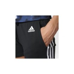 Szorty i Bermudy  adidas  Szorty Essentials 3-Stripes. Czarne bermudy damskie Adidas. Za 129,00 zł.