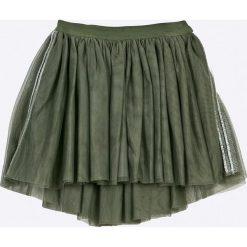 Blukids - Spódnica dziecięca 98-128 cm. Szare minispódniczki Blukids, z bawełny, rozkloszowane. W wyprzedaży za 39,90 zł.