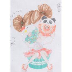 Mayoral - Komplet dziecięcy (top + legginsy) 98-134 cm. Szare bluzki dziewczęce bawełniane Mayoral, z nadrukiem. Za 114,90 zł.
