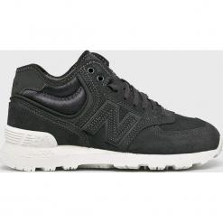 New Balance - Buty WH574BB. Szare buty sportowe damskie New Balance, z gumy. Za 449,90 zł.