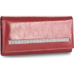 Duży Portfel Damski PETERSON - 467/S-14-03-01 Czerwony. Czerwone portfele damskie Peterson, ze skóry. W wyprzedaży za 139,00 zł.