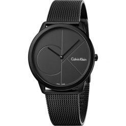ZEGAREK CALVIN KLEIN MINIMAL K3M514B1. Czarne zegarki męskie marki Calvin Klein, szklane. Za 1169,00 zł.