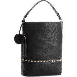 Torebka JENNY FAIRY - RH2011 Black. Czarne torebki klasyczne damskie marki Jenny Fairy, ze skóry ekologicznej. Za 119,99 zł.