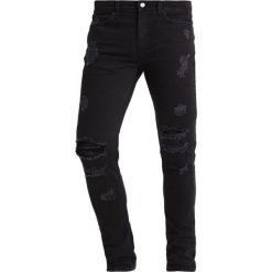 Jeansy męskie regular: Tigha MORTEN  Jeansy Relaxed Fit vintage black