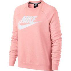 Bluza Nike NSW Rally Crew (930905-646). Różowe bluzy damskie marki Nike, z bawełny. Za 191,99 zł.