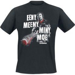 T-shirty męskie: The Walking Dead Negan - Eeny Meeny Miny Moe T-Shirt czarny