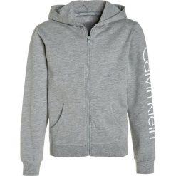 Bejsbolówki męskie: Calvin Klein Underwear HOODIE Bluza rozpinana grey heather